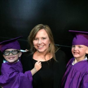Brooke and the Boys at VPK Graduation