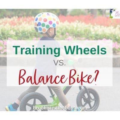 Balance Bike vs. Traditional Bike