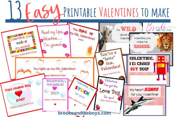 Kid Class Valentines