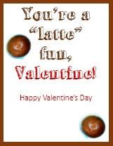 Valentines for Teachers - Starbucks Card