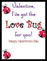 Kid Valentines Love Bug