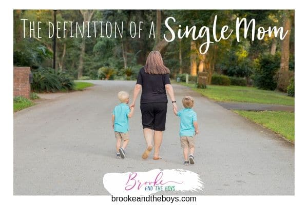 Definition Single Mom