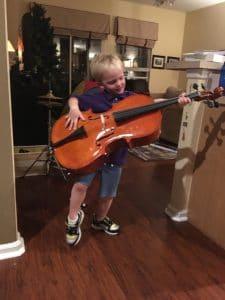 cello or guitar