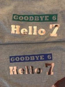 Hello 7 Shirts