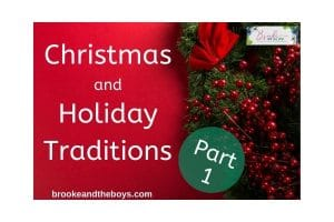 Holiday Traditions Christmas