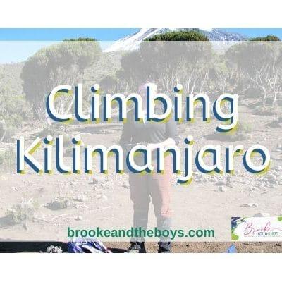 Climbing Kilimanjaro – My Story